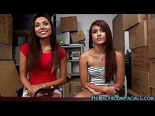 Latina babes casting fuck