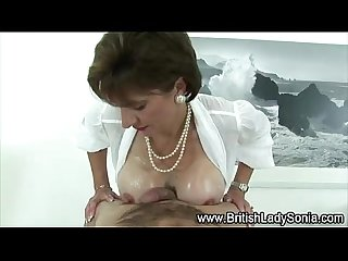 Mature fetish cock oozes