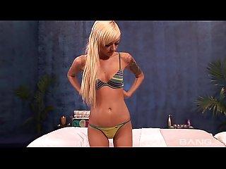 Emma mae fucked on the massage table
