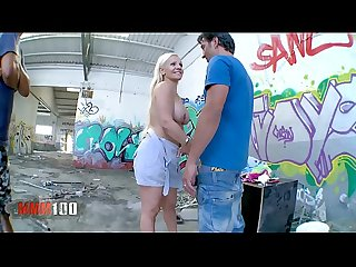 Hot bigtits spanish blonde Milf Fucking A homeless guy