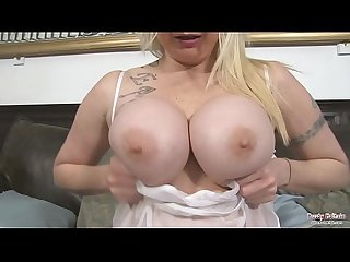 Summer lee dildo fucks big tits and wet cunt