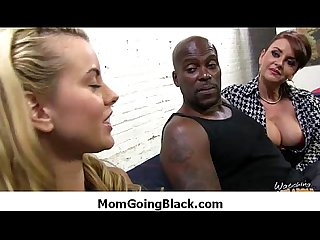 Interracial milfs and cougars mommy getting black cock 18