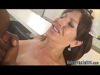 Mature lady fucks bbc