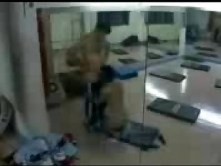 Arab couple gym romp hidden cam video full 176 mp4