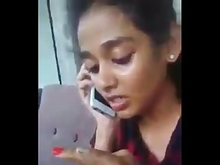Telugu pachi boothulu Sexy girl Sexy talk in phone live Video
