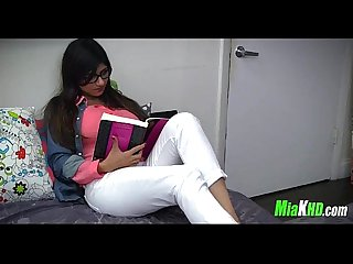 Mia khalifa teaches her muslim friend how to suck cock 3 91