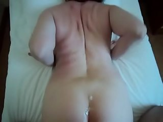 Mature mom 53y son taboo homemade real milf voyeur hidden fuck cum couple ass