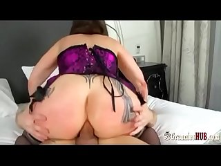 Hottest gilf michaela o brilliant gets butt fucked