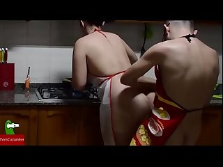 Good fucked in the kitchen while i cook you homemade voyeur iv020