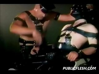 Leather and bear vintage gay bdsm