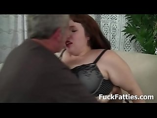 Fat Slut Gets Hammered With Hard Cock