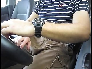 Car jerk talking and cumming