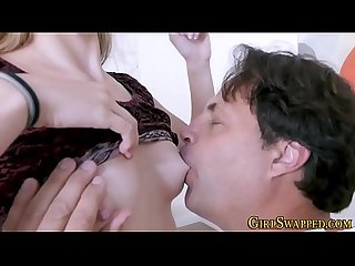Teen stepdaughter plowed