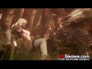 [3D HENTAI] Beast Fuck-Segment 2