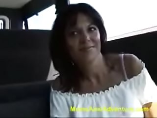 Sexy Milf Natalie Picked up for an interview