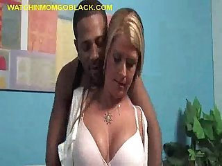 Mom Agrees to Suck Black Cock
