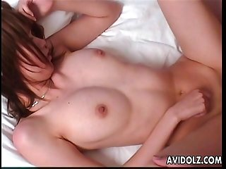 astonishing bruette asian slut getting her wet pussy fucked