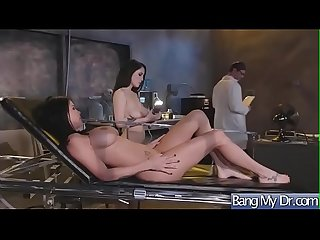 Hardcore Sex Between Doctor And Slut Horny Patient (Noelle Easton & Peta Jensen) video-24