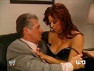 �?�WWE RAW 5106- Mr McMahon, Candice Michelle, Triple H Backstage (HQ)�?�?