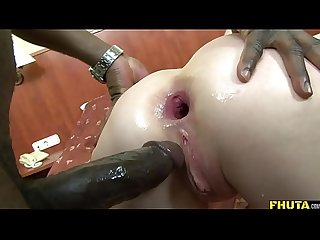 Sexy mature blonde fucked up the Ass by bbc