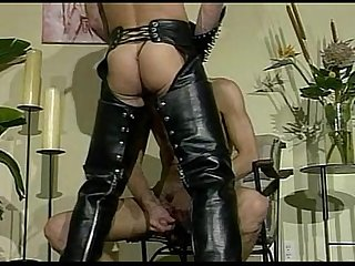 The leather visit