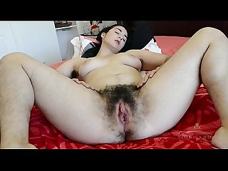 hairy Wara masturbation