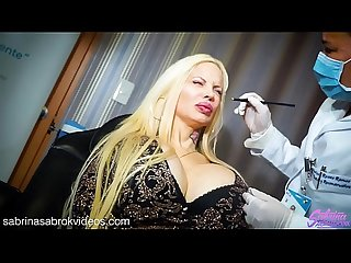 Sabrina Sabrok lips augmentation fetish