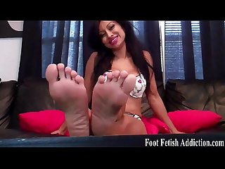 Beg and i will let you worship my feet