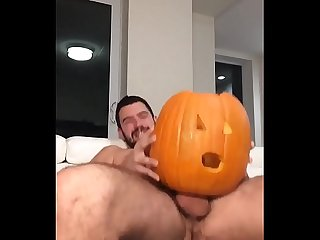 Male fucking pumpkin