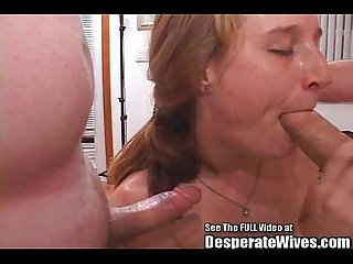 Submissive RedHead Slut Wife Gets Fucked