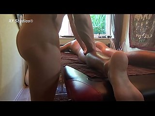 Basti aus berlin and joy massage