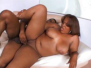 Ebony hardore pussy ramming