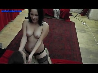 Czech newbie doing a sexy teasing Lapdance