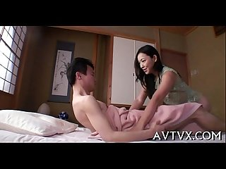 Mesmerizing oriental oral sex