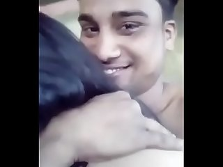 Indian Desi girlfriend enjoy sex with her boyfriend in hotel period