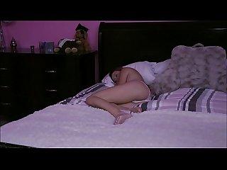 Hollie mack super horny stepbro go into her room