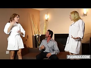 Busty stepsisters and their surprise client britney Amber kagney linn karter and tommy gunn