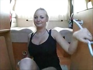Blonde on A dick