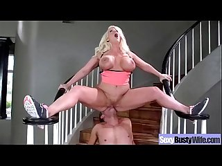 Busty Hot Mom Fucks In Hard Style Sex Tape video-02