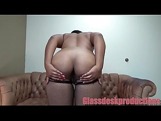 Big titty ebony anal casting