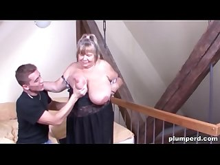 Fat german granny fucked so hard she can t believe it