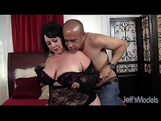 Hot BBW MILF Alexis Couture pleases this guy's cock