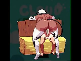 cloud meadow cowgirl sex animation with sound