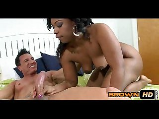 Black babe fun cherise roze