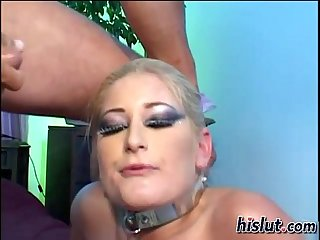 Heather is a bdsm submissive