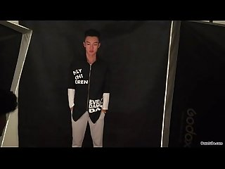 Asian model photoshoot at gay movie vids tube2