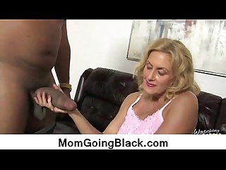 Big black cock on my mommy
