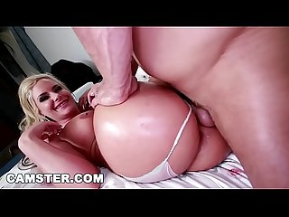 Camster cam model and pornstar phoenix marie s big ass gets railed