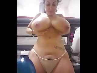 Big boobs pregnant girl removing top - camstriphub.com