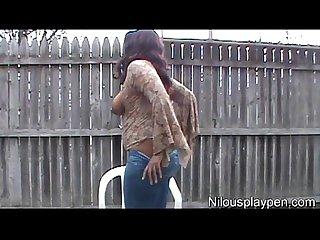 Horny ass outdoors 2 nilou achtland
